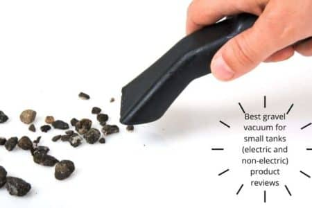 Best gravel vacuum for small tanks (electric and non-electric) product reviews