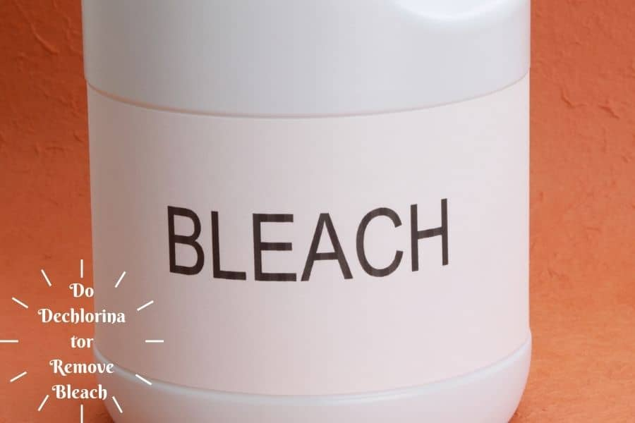Will Dechlorinator Remove Bleach What Do The Experts Say